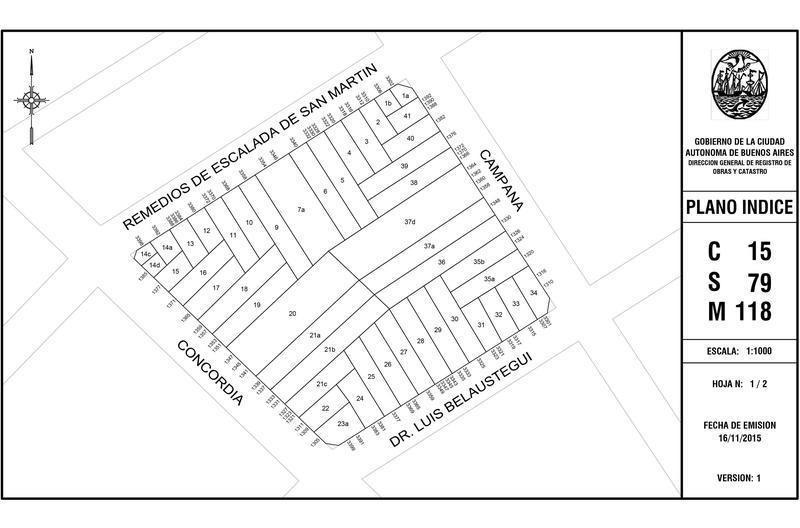 excelente lote - superficie edificable 1470m2 - frente 8,70m x fondo 44,30m