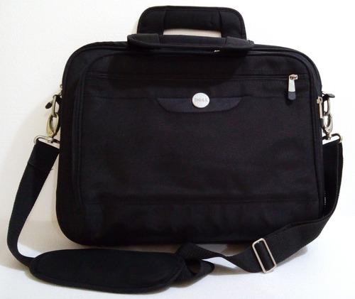 excelente maletin dell para laptop 14.1 color negro usado