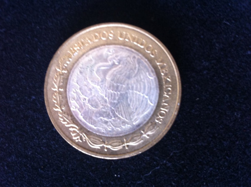 excelente moneda de $50 nuevos pesos centro de plata