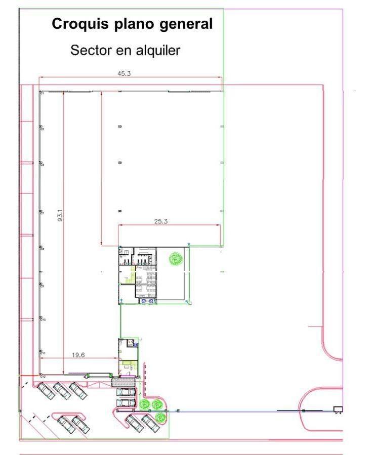 excelente nave industrial c/oficinas 3.872 m2 a estrenar - 2 puentes grúa 8tn