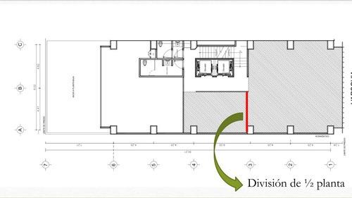 excelente oficina acondicionada en renta de 115 m2