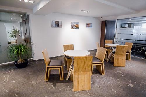 excelente oficina amueblada para 1-3 personas en renta en polanco