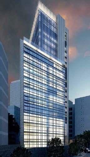 excelente oficina corporativa en renta desde 500 m2 en nápoles.