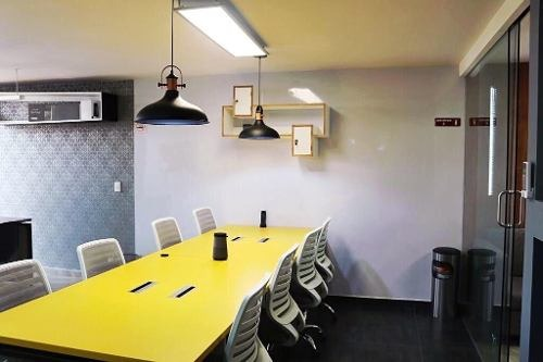excelente oficina (coworking) para 6 personas en división del norte.