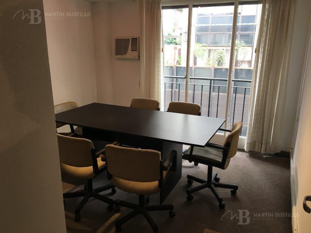 excelente oficina de un despacho y área de trabajo en alquiler en retiro