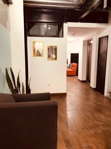 excelente oficina en coworking de 22 m2 en colonia cuauhtémoc.