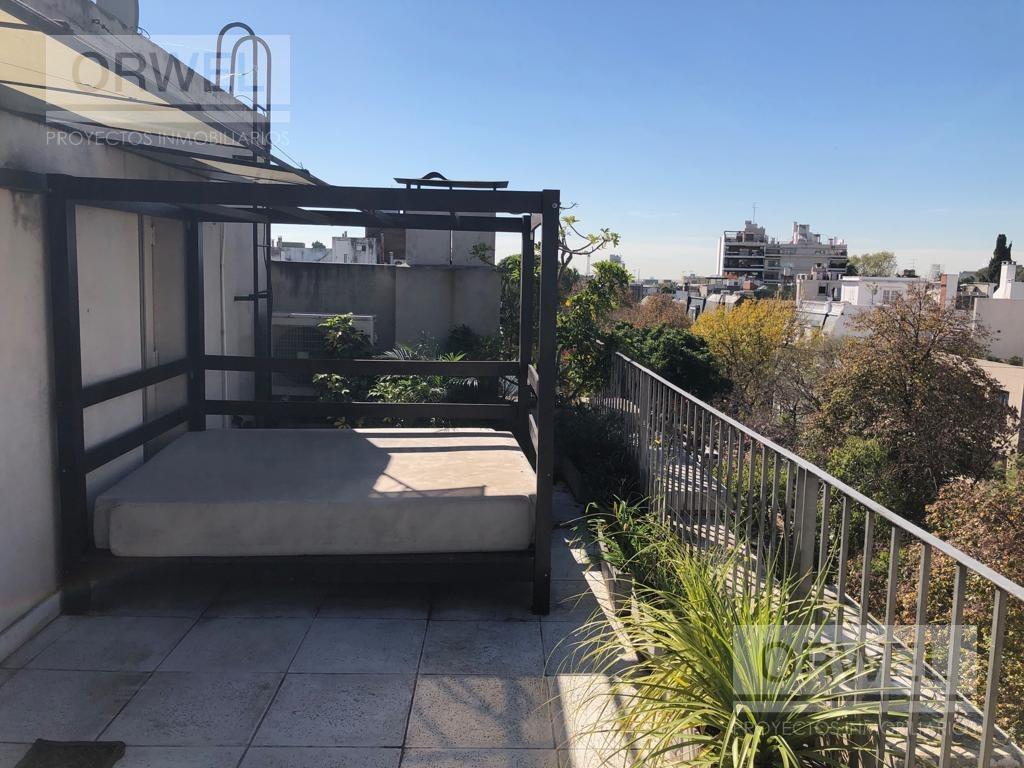 excelente oficina en duplex con terraza propia, mucha onda!