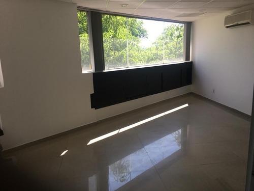 excelente oficina en renta de 132 m2 en anzures.
