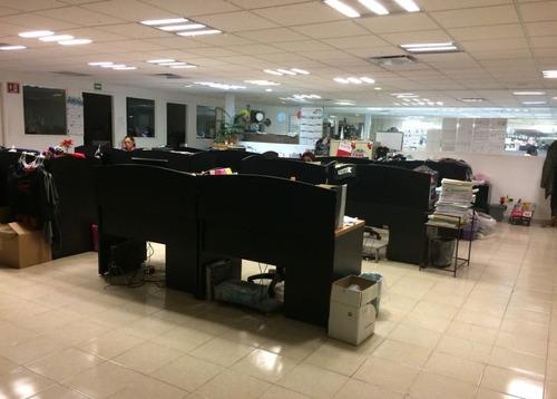 excelente oficina en renta de 1610 m2 en iztacalco