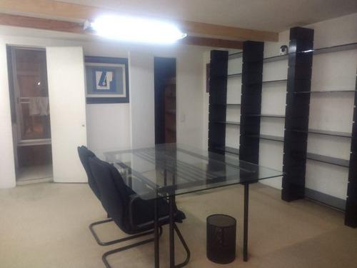 excelente oficina en renta de 165 m2 en colonia anzures.