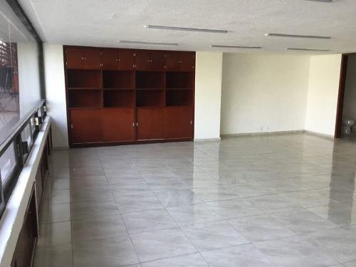 excelente oficina en renta de 210 m2 en letran valle