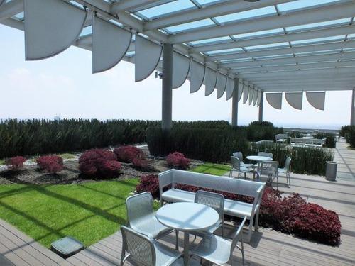 excelente oficina en renta de 220 m2 en torre murano.