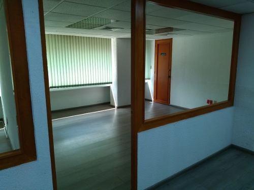 excelente oficina en renta de 227 m2 sobre insurgentes.