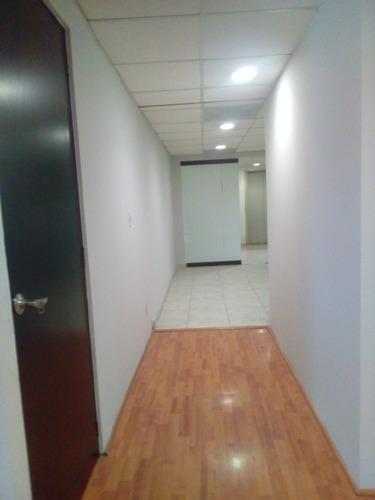 excelente oficina en renta de 240 m2 en anzures.