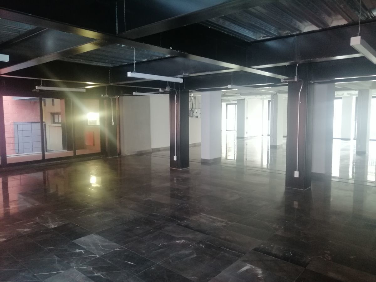excelente oficina en renta de 358 m2 en colonia  roma norte.
