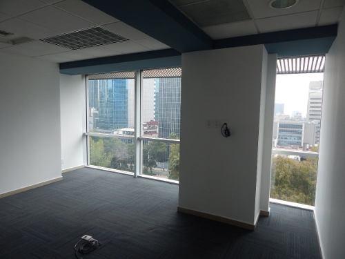 excelente oficina en renta de 434m2 en paseo de la reforma.