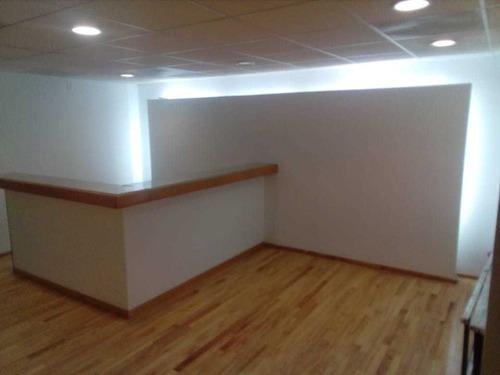 excelente oficina en renta de 530 m2 en anzures.