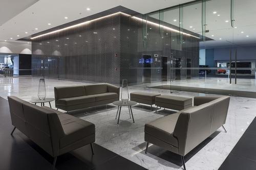 excelente oficina en renta de 600 m2 en santa fé.