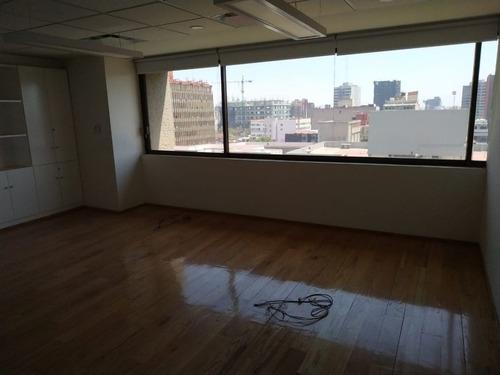 excelente oficina en renta de 646 m2 en colonia juárez.