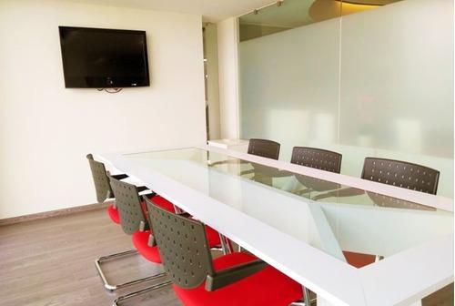 excelente oficina en renta de 66 m2 en santa fe