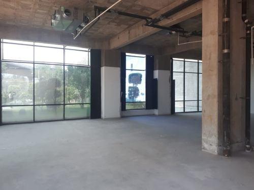 excelente oficina en renta de 730 m2 en insurgentes cuicuilco