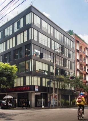 excelente oficina en renta de 78 m2 en colonia  roma norte.