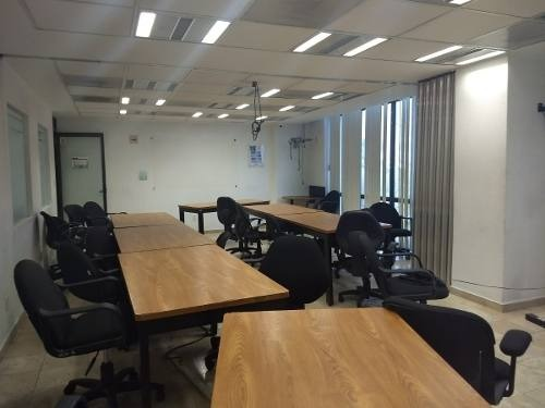excelente oficina en renta de 992 m2 en colonia granada.