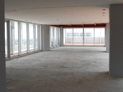 excelente oficina en renta dentro de corporativo pirámides de 215 m2