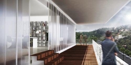 excelente oficina en renta desde 417 m2 en bosque de las lomas