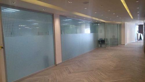 excelente oficina en renta desde 435 m2 en roma sur.
