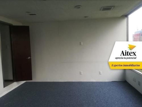 excelente oficina en renta en reforma, cdmx