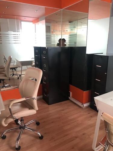 excelente oficina equipada para 3 personas en hipódromo condesa.