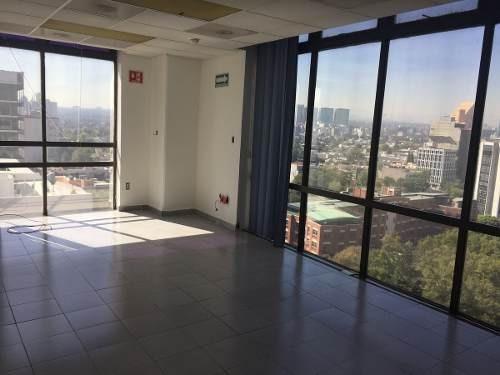 excelente oficina semi-amueblada en colonia granada amueblada piso 12