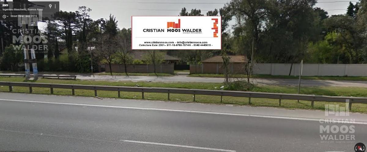 excelente oportunidad sobre panamericana-cristian mooswalder negocios inmobiliarios-