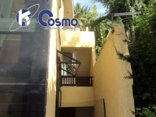 excelente oportunidade de casa alto padrão, 4 andares,  á venda em guarujá - península, praia da enseada - ca00016 - 4243833