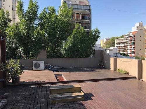 excelente ph en caballito 3 dorm. gran terraza con quincho