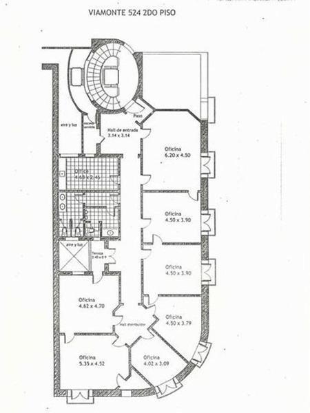 excelente piso de oficinas- centro