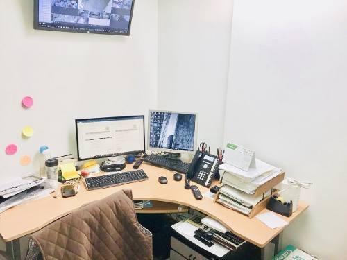 excelente piso de oficinas en edificio en periferico sur magdalena contreras