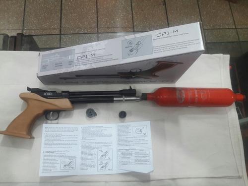 excelente pistola gas comprimido ideal tiro de precisión