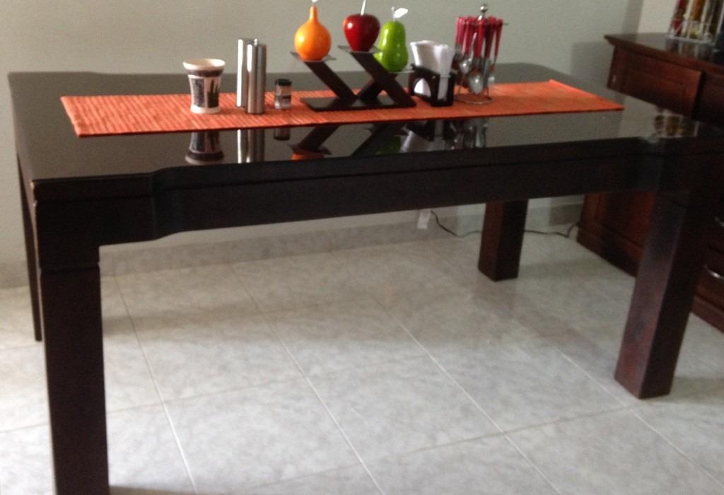 Excelente precio se vende juego de comedor madera de - Precio madera roble ...