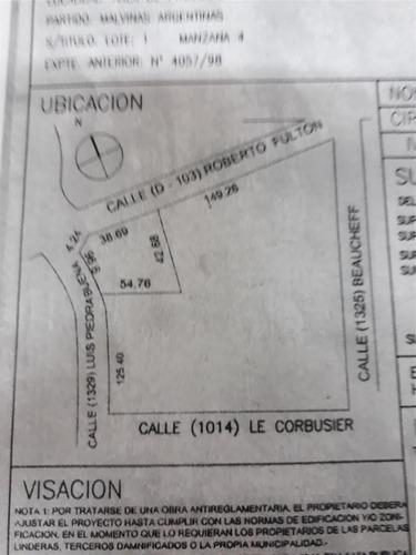 excelente propiedad industrial de 965 m2 cub.