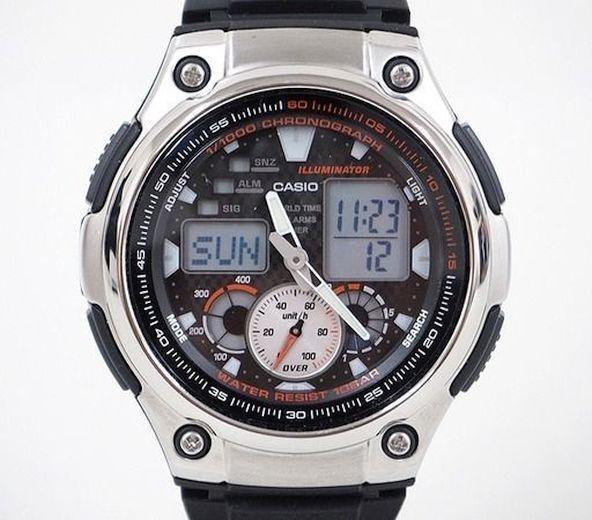 e1f2c1c0d077 Excelente Reloj Casio Hombre