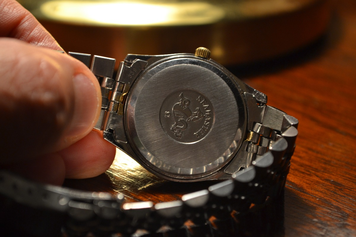 e4f9054d523 Excelente Reloj Omega Seamaster Quartz 100% Original -   15.000