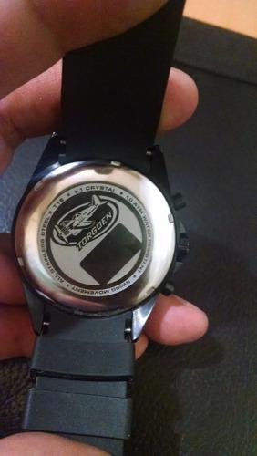 excelente reloj suizo original torgoen cronómetro