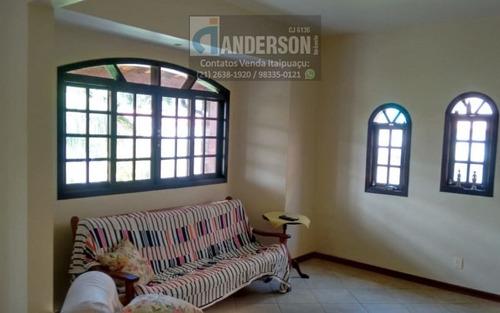 excelente residência em itaipuaçu com 3qtos (sendo1 suite) + anexo