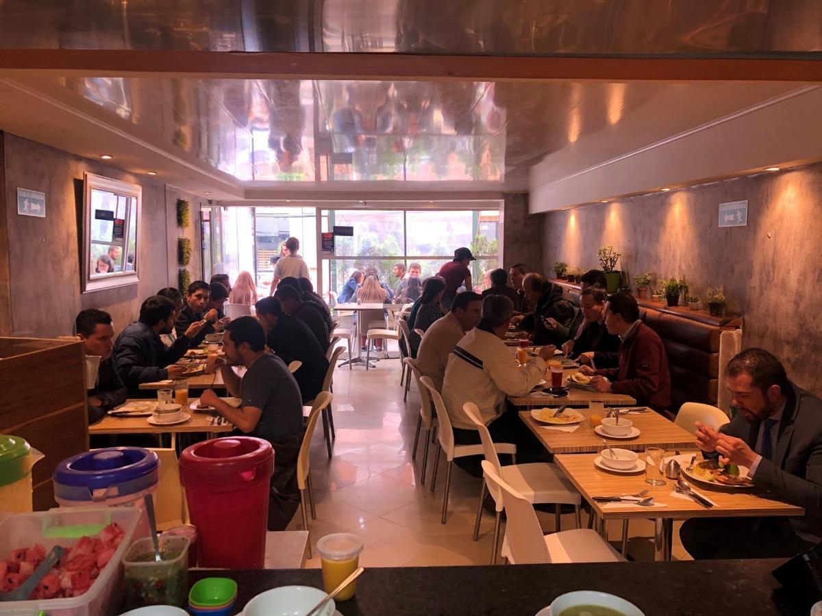 excelente restaurante la olla del chef, acreditado