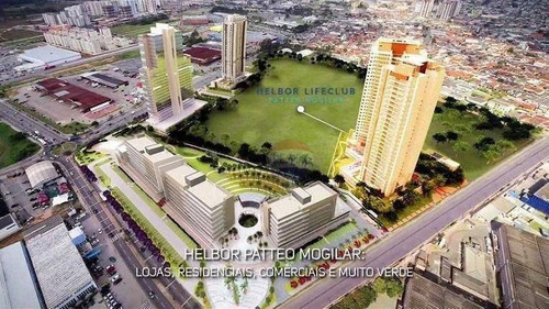 excelente sala coml nova 35m² sky mall mogi cruzes - sa0001