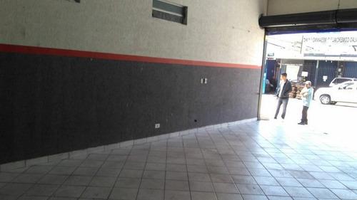 excelente salão comercial com 125 metros. ref 80194
