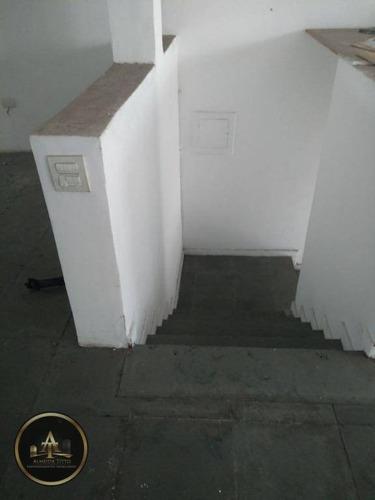 excelente salão comercial na rua da prata para locação - barueri - confira!!! - sl0008
