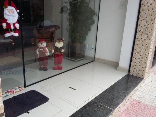 excelente salão comercial  novo 90 m² - santo antônio scsul - 442